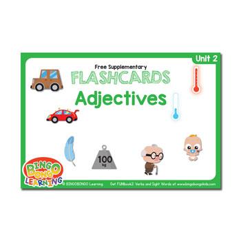 Unit 2 flashcard adjectives