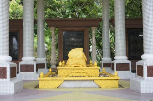 Inside the Maqam of Sultan Tengah