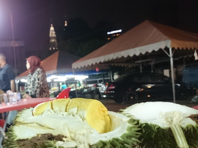 Durian by KLCC-light