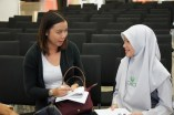 Interviewed by the New Straits Times
