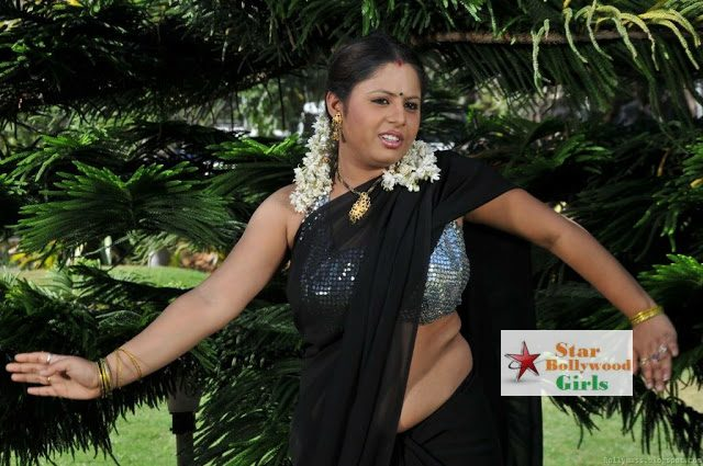 Actress Sunakshi Spicy Hot Saree Navel Photo Pic Stills Gallery-0003