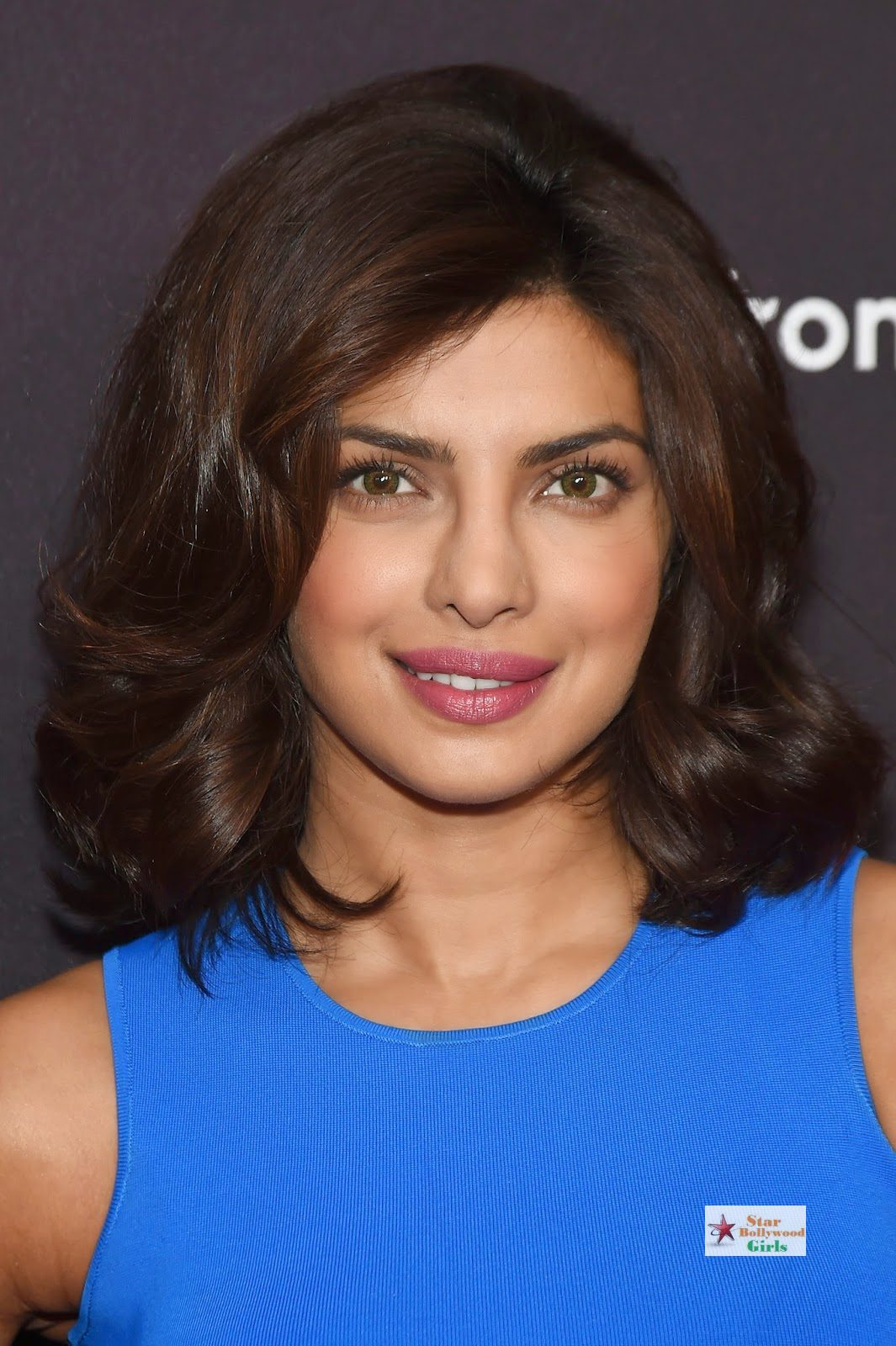 Priyanka Chopra Looks Sexy In Blue Figure Hugging Dress As She Attends The 2015 ABC Upfront At Avery Fisher Hall, Lincoln Center In New York1
