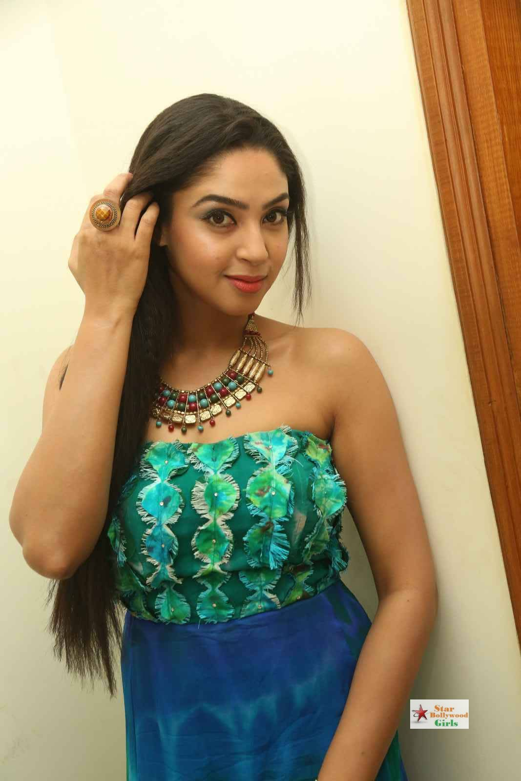 Angana-Roy-Stills-At-Srimanthudu-Movie-Thanks-Meet-31