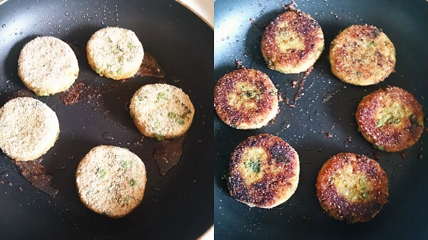 Sprouted Moong Cutlet 5