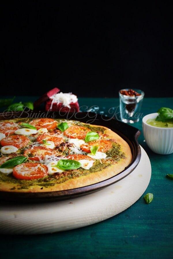 Basil Pesto Pizza