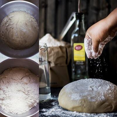 Homemade Whole Wheat Pita Bread 1