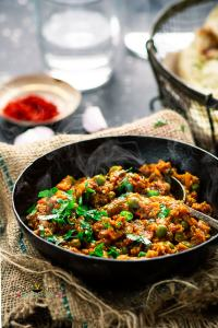 Baingan Bharta(Smoked Eggplant Curry)