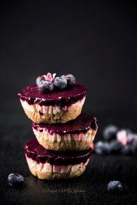 Blueberry Vegan Cheesecake