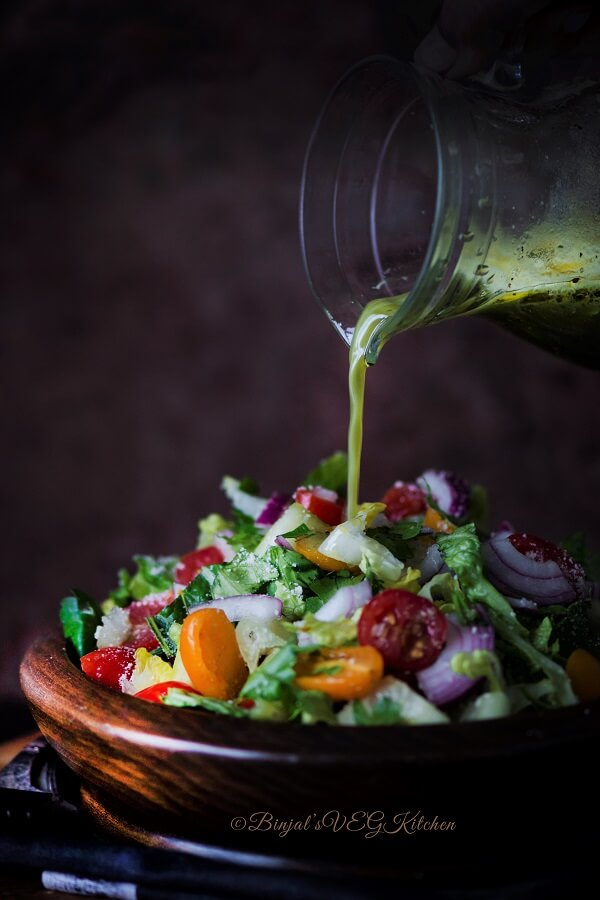 Greek Salad Photography