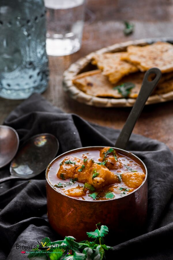 Dum Arbi Colocasia Curry Photography