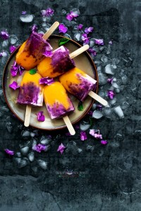Mango Berry Popsicles