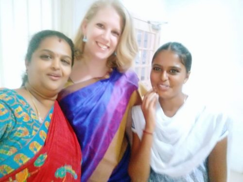 Ladies of the BiNKi team in India