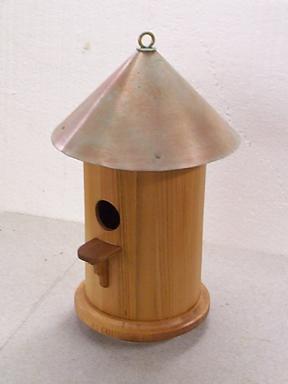 round bird house plans