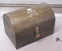 wooden pirates chest plans