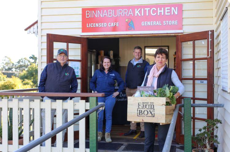 binna burra kitchen scenic rim farm box virgina west