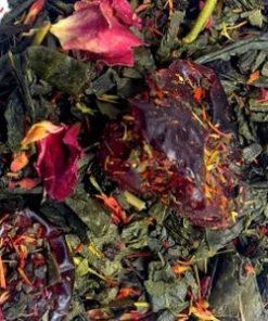 groene cranberry roos