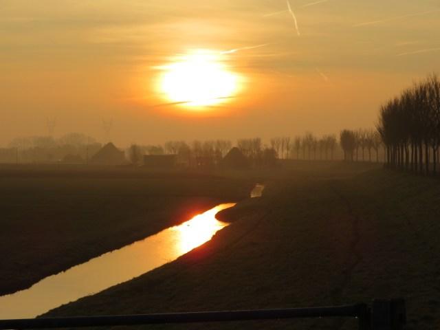 Beemster in Beeld - Mooie zonsopgang