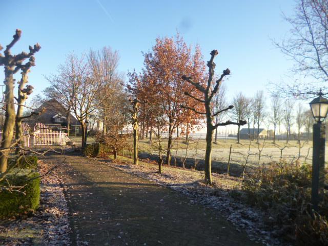 Beemster in Beeld - Beemster stolp aan de Rijperweg in november