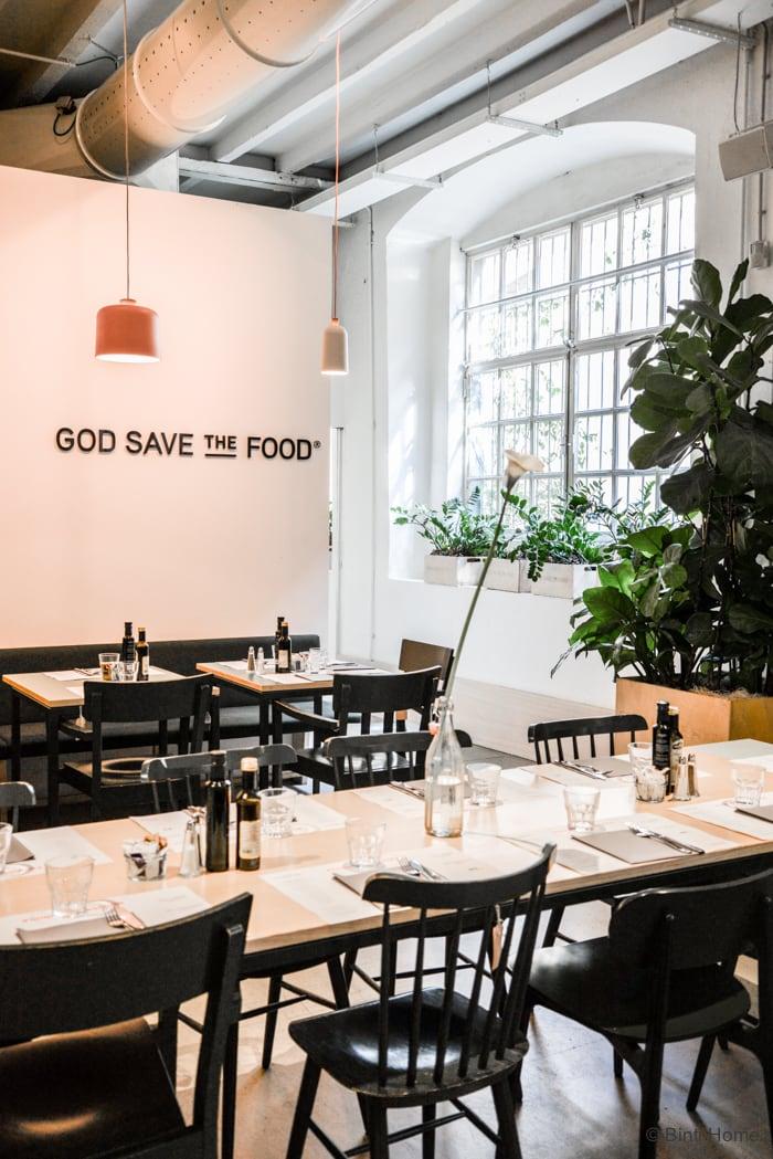 God save the food hotspot Milaan   ©BintiHome