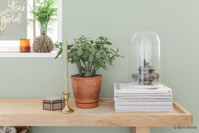 Restyling in mijn woonkamer met de trendkleur groen binti home blog - Trendkleur keuken ...