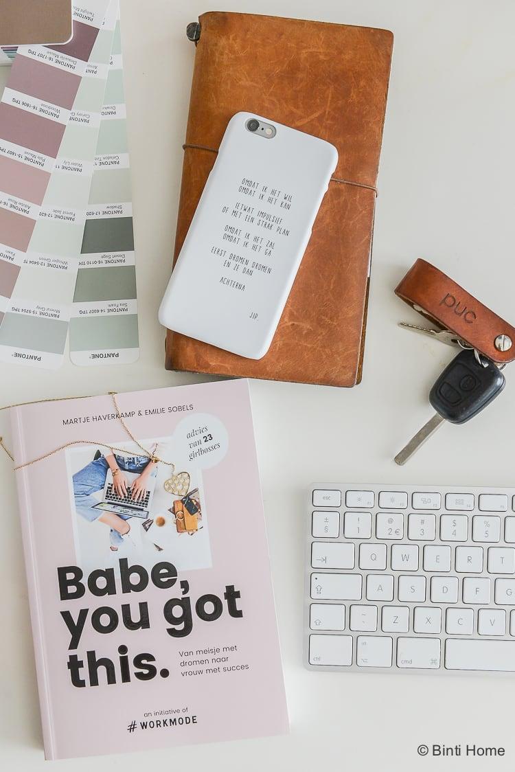 Hashtag workmode Creatief ondernemen Hoe start je een eigen bedrijf ©BintiHome