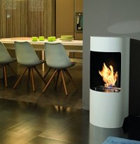 Wood Burner Style Bio-Ethanol Stove Designs