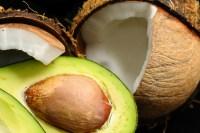 avocado and coconut