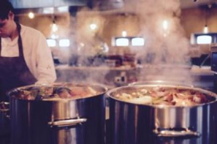 Filtering odours from food preperation and cooking