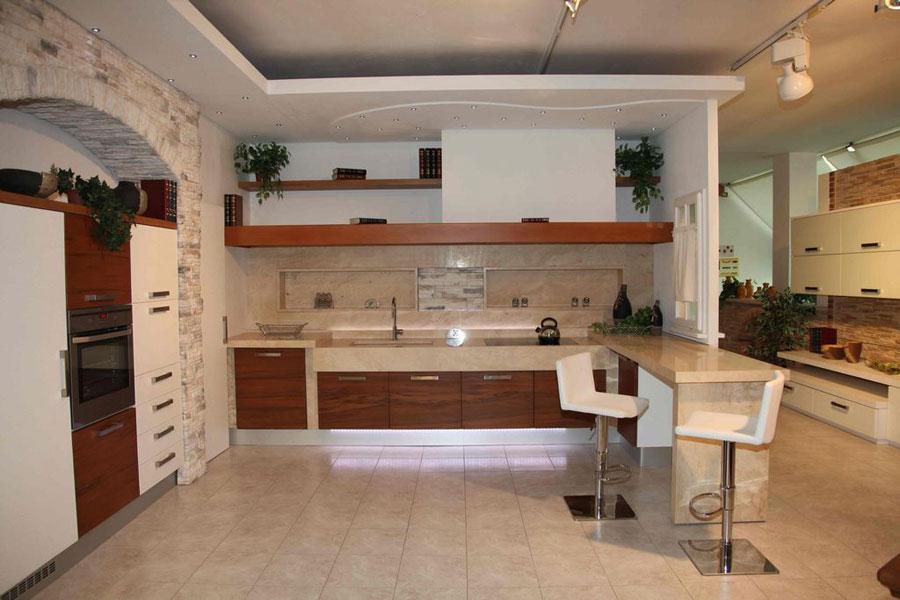 Cucina-Muratura-Moderna-05 - Stufe e camini Catania, Stufe e ...