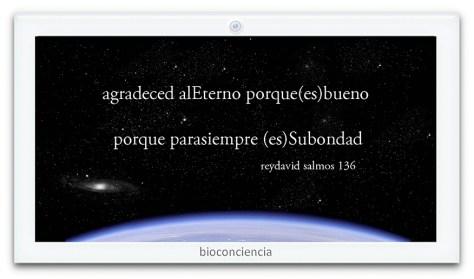 el mundo es nuestro (bioconciencia)