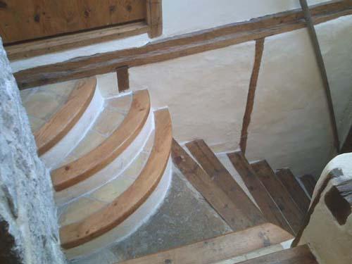 Escalera tradicional