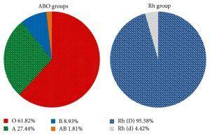 Los grupos sanguíneos 4