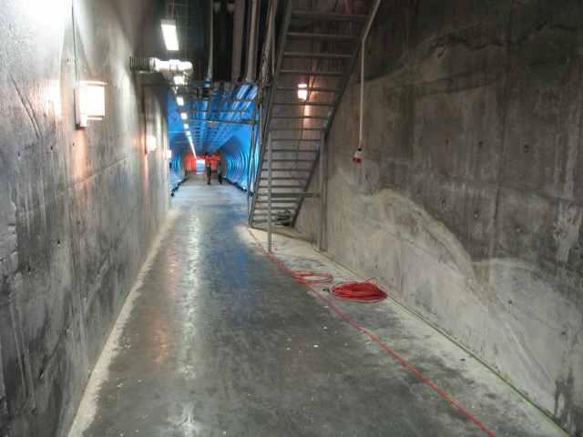 Interior del Banco Mundial de Semillas