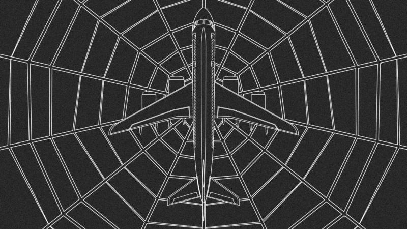 El avión del futuro podría tener seda de araña sintética en su interior