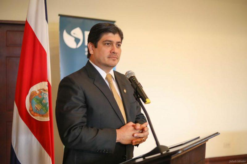 El presidente de Costa Rica y el Director General del IICA abren la Conferencia de Ministros de Agricultura 2019