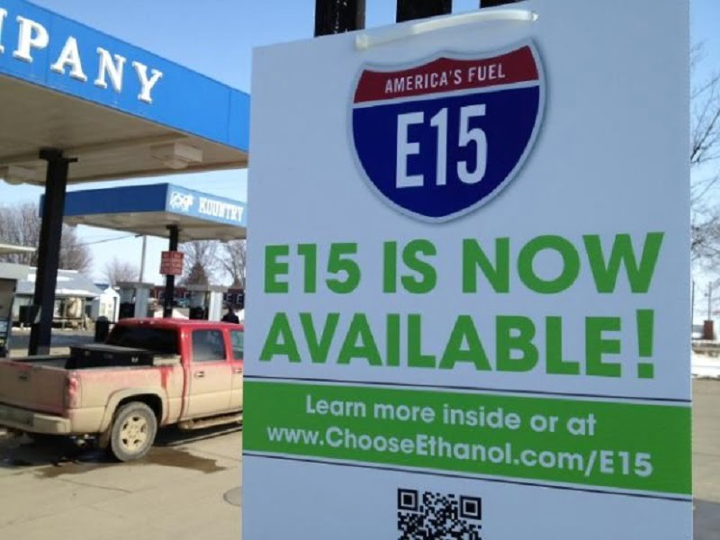 EEUU: crece casi 50% el uso voluntario de bioetanol