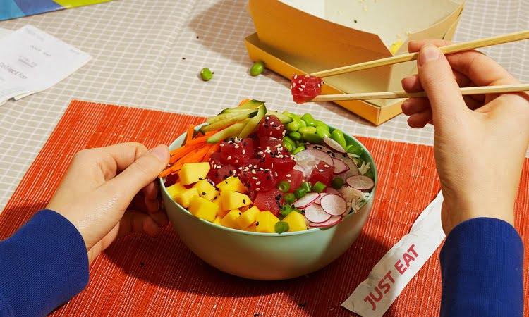 Just Eat incorpora cajas de algas para el delivery de comidas