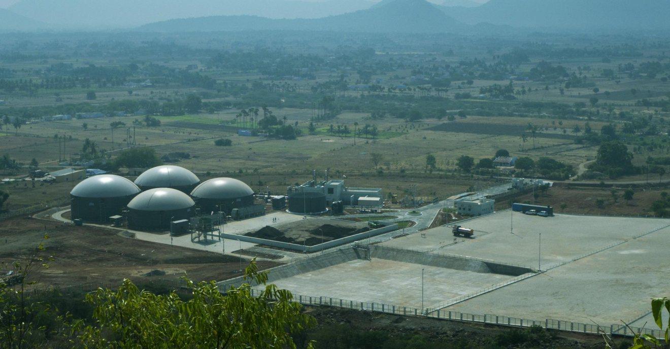 India busca financiamiento internacional para construir 5.000 plantas de biogás