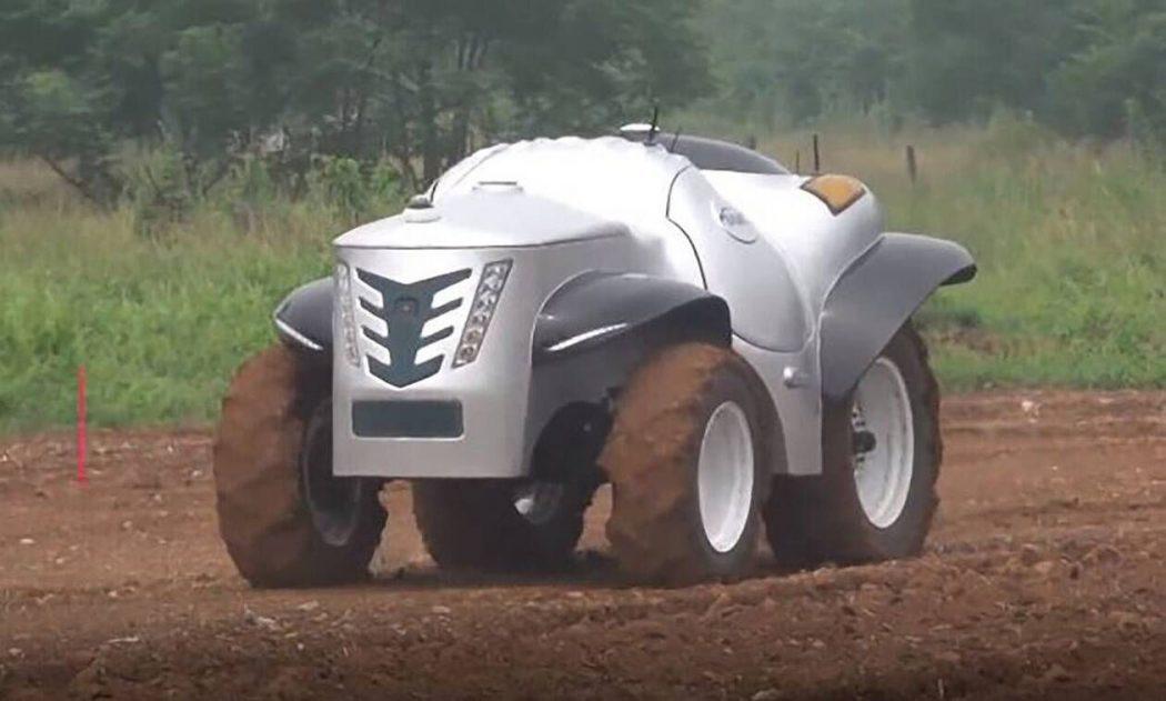 Inteligente y autónomo, así es el primer tractor impulsado por hidrógeno