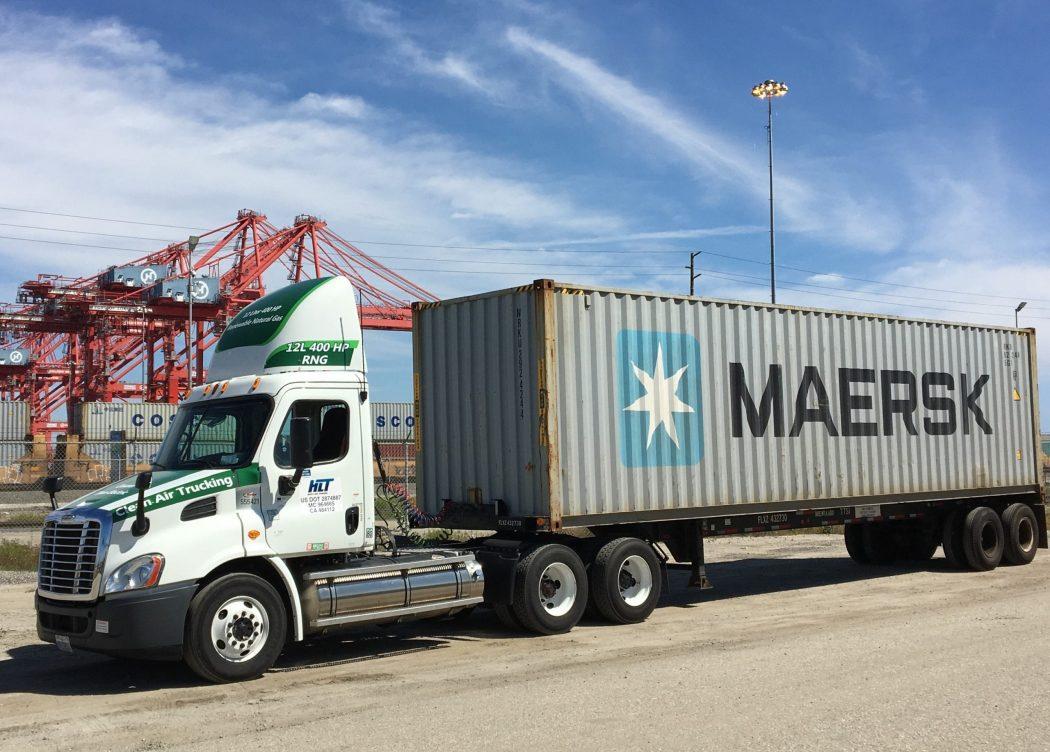Adopt-a-Port, la iniciativa de Chevron para impulsar el uso gas natural renovable en camiones