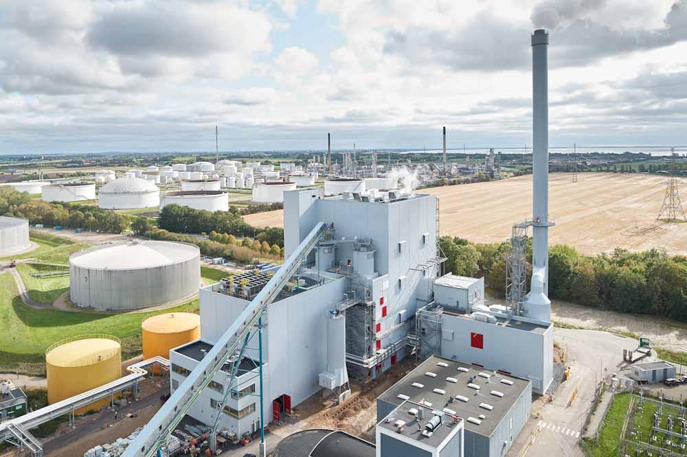 Dinamarca: reconversión de central eléctrica clave para reducir la huella de carbono de dos empresas importantes
