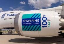 Rolls-Royce demostró en vuelo que sus motores aeronáuticos son aptos para funcionar con biocombustibles al 100%