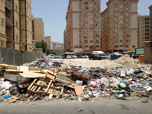 Many Middle East nations lack legislative framework and regulations to deal with urban wastes.