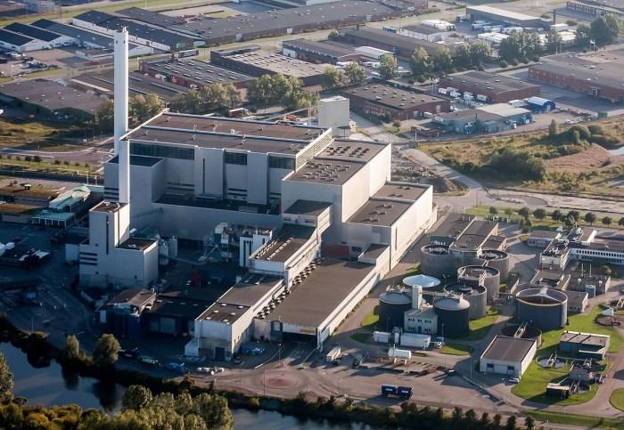 Sysav–WTE-plant-Sweden