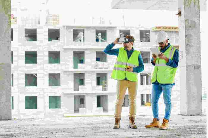Virtual reality in construction