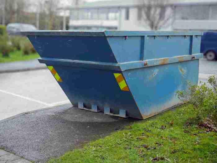skip bins for effective waste management