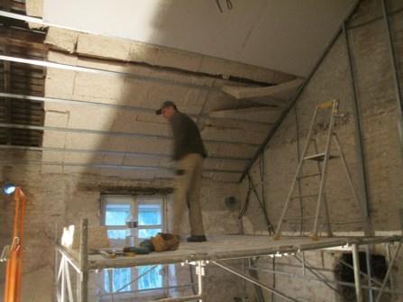 Rénovation isolation toiture en chanvre