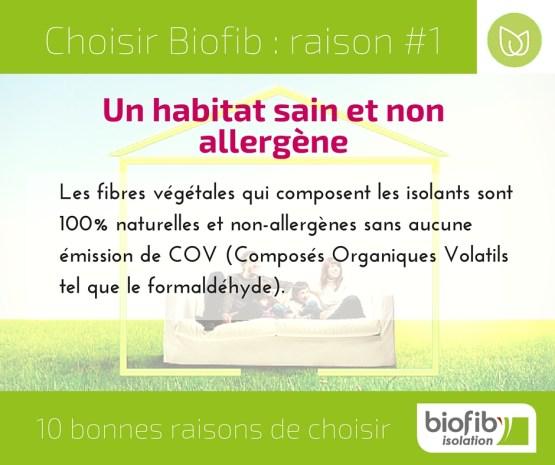 10 bonnes raisons de choisir Biofib - 1 facebook
