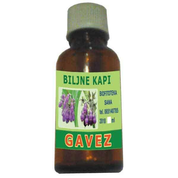 Biljne kapi od Gaveza