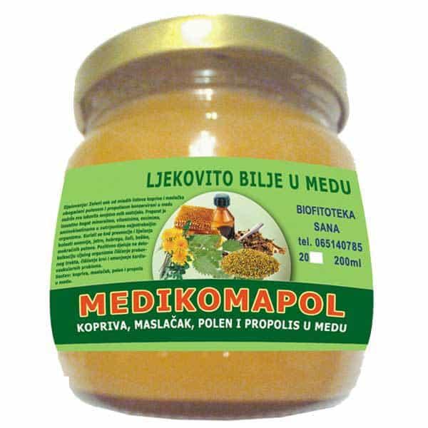Medikomapol - Kopriva, maslačak, polen i propolis u medu